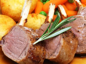 Изначально котлетами называлось мясо на косточке