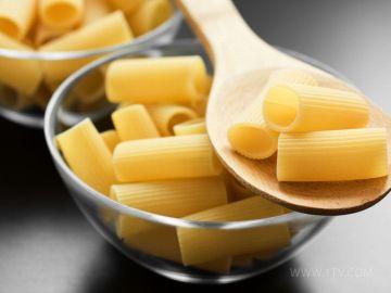 В макаронах большое количество калорий