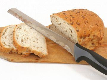 Зубчатый нож используется для мягких продуктов