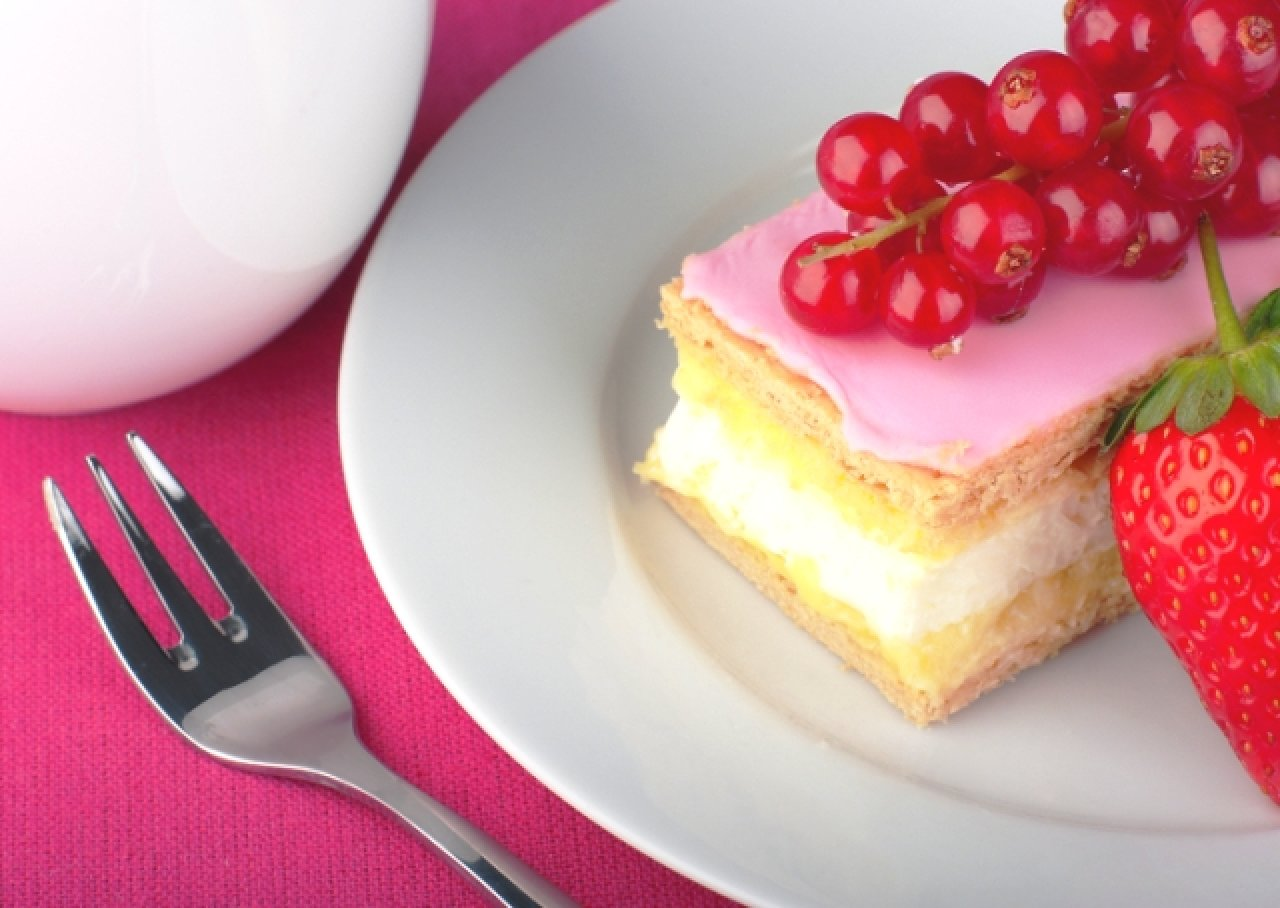 Десертная вилка для пирожных