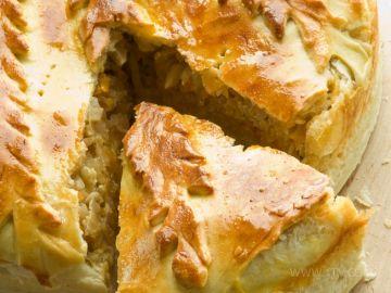 Первыми пирогами были пироги с мясом