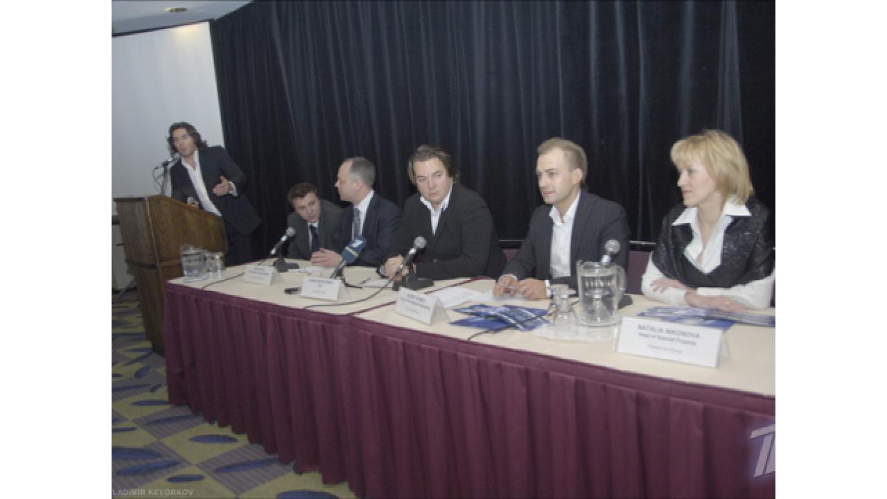Запуск вещания Первого канала в Канаде