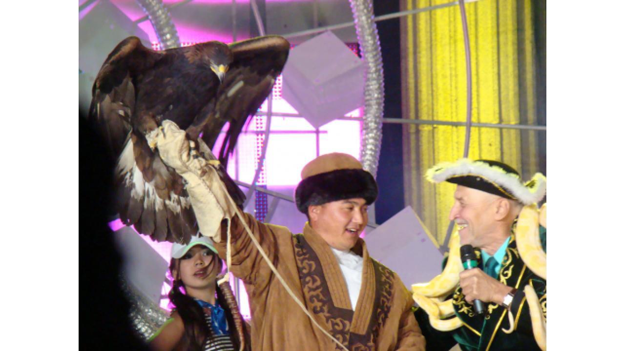 Первый канал отметил десятилетие вещания в Казахстане