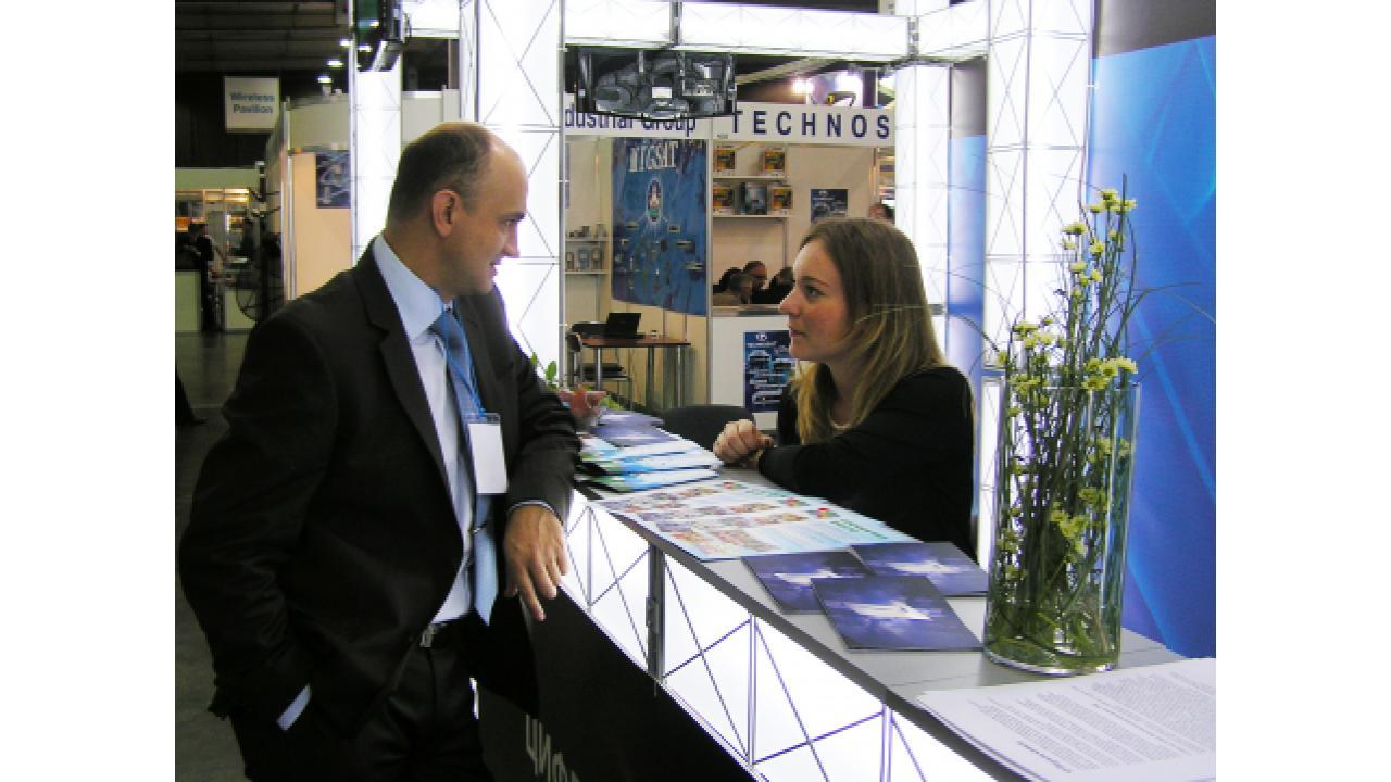 Первый канал принимает участие в выставке EEBC 2007