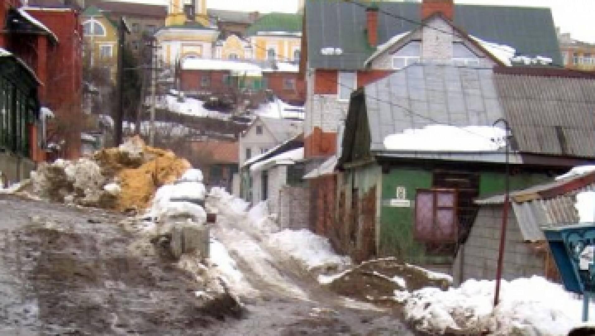 В распутицу - Кинороман, Фильм