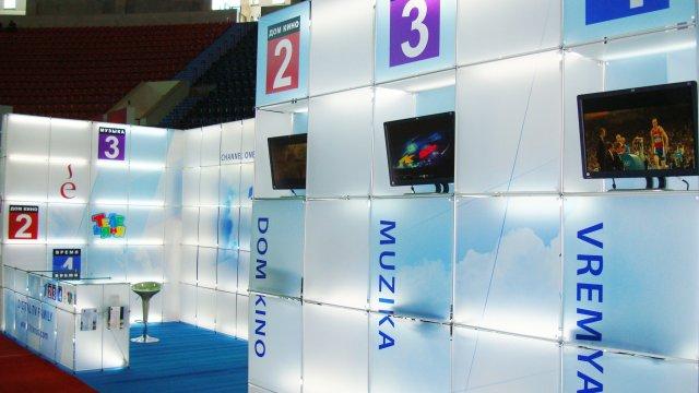 «Цифровое Телесемейство» навыставке BakuTel—2008в Азербайджане