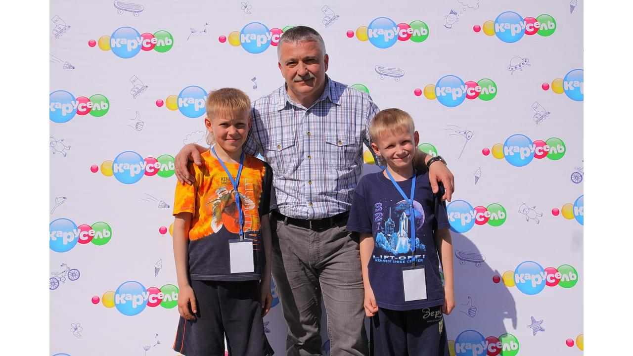 Космонавт Фёдор Юрчихин, Максим и Герман Андреевы