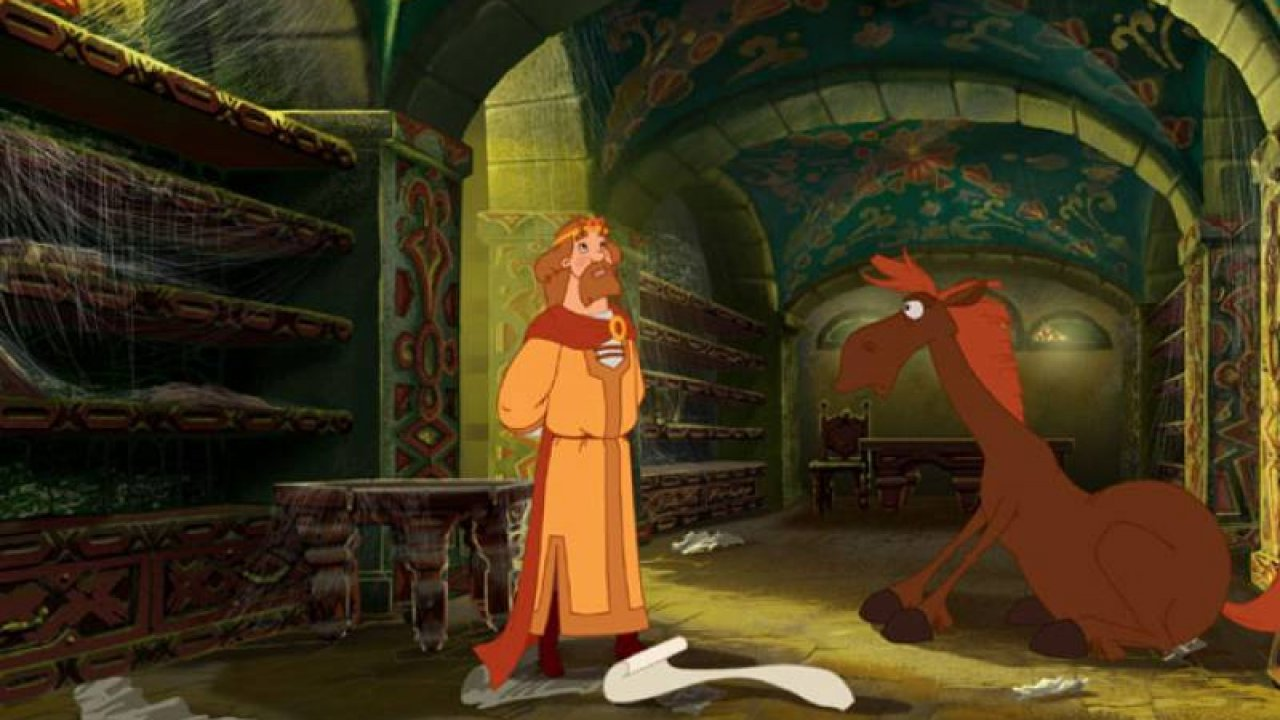 Три богатыря и Шамаханская царица - Анимационный фильм
