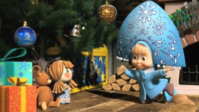 Главный российский Дед Мороз и герои канала «Карусель» встречают Новый год