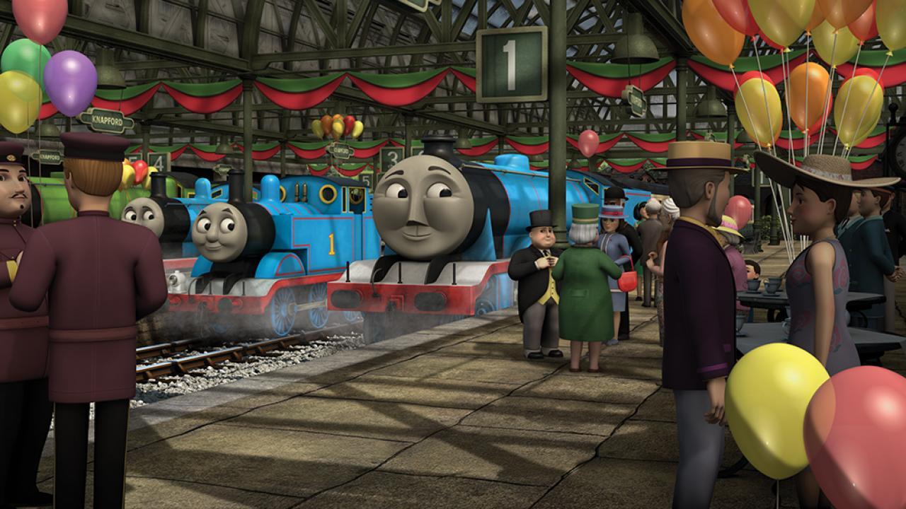 Томас и его друзья