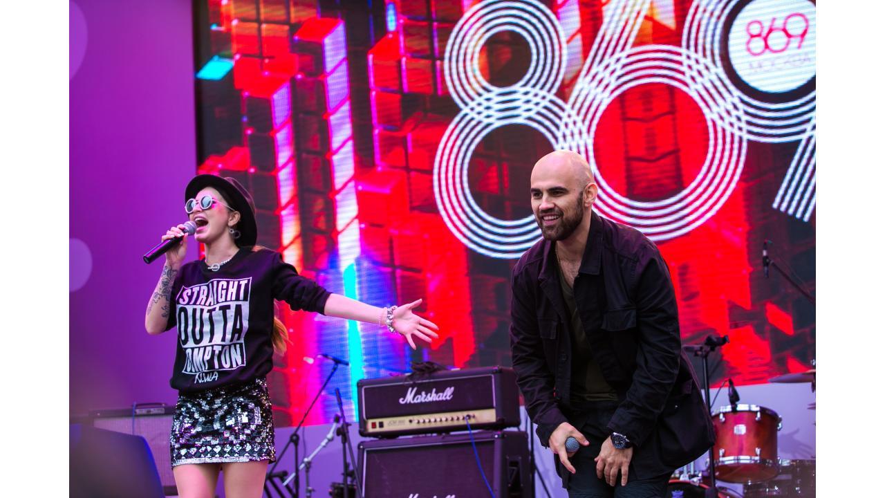 Artik&Asti / Звёзды «Музыки Первого» поздравили Москву с Днём города