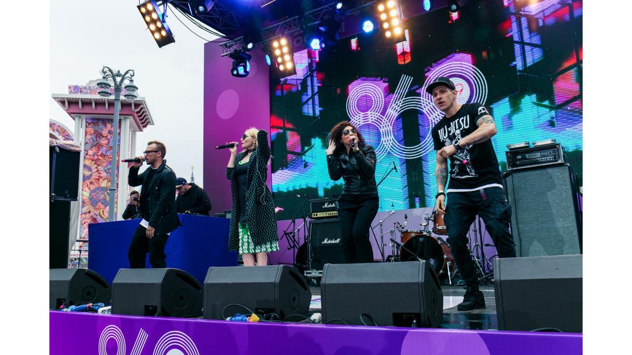 БандЭрос / Звёзды «Музыки Первого» поздравили Москву с Днём города
