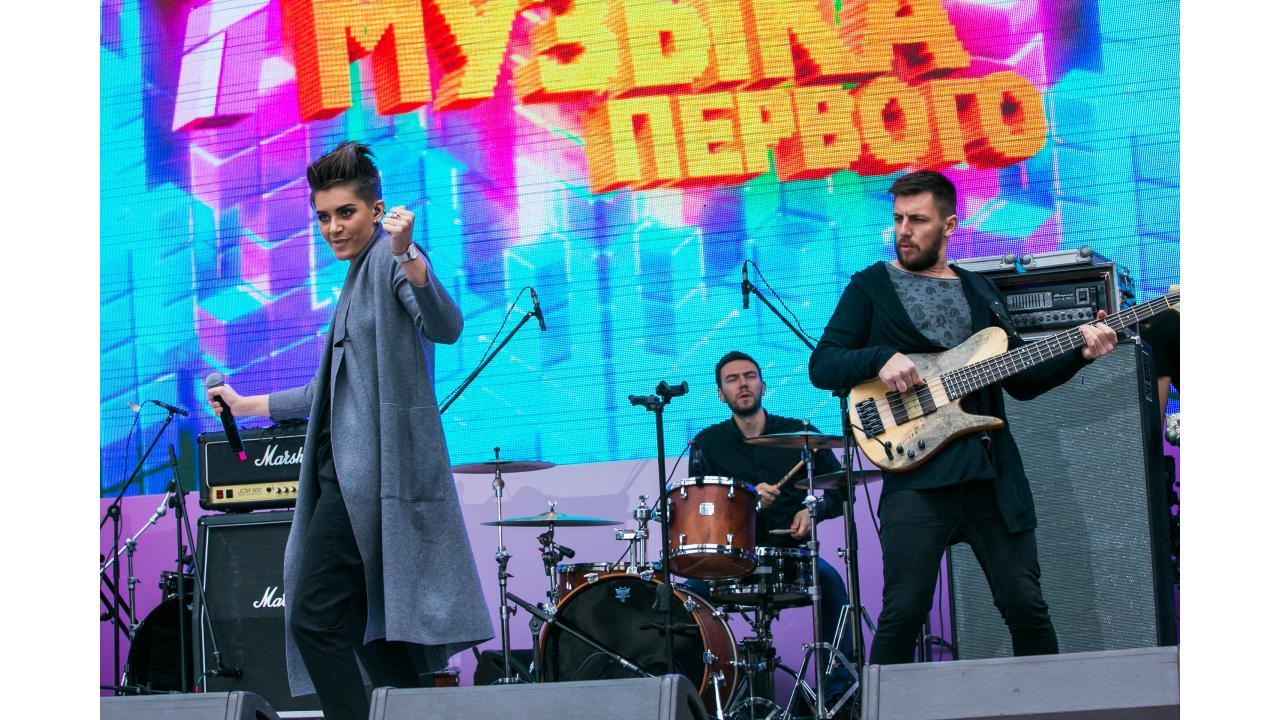 Эмма М / Звёзды «Музыки Первого» поздравили Москву с Днём города