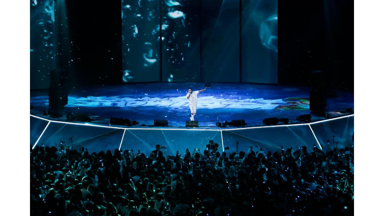 Телеканал «Музыка Первого» поздравил с наступающим Новым годом в «Олимпийском»!