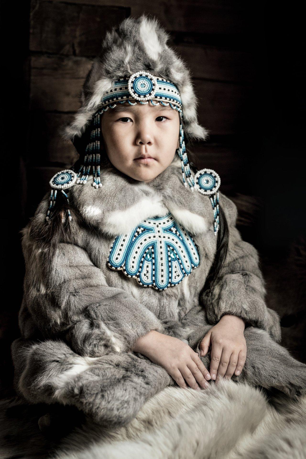 Якутская эвенка из Оленекского национального района, одного из самых холодных и самых удаленных уголков Якутии. Фото: © Alexander Khimushin / The World In Faces