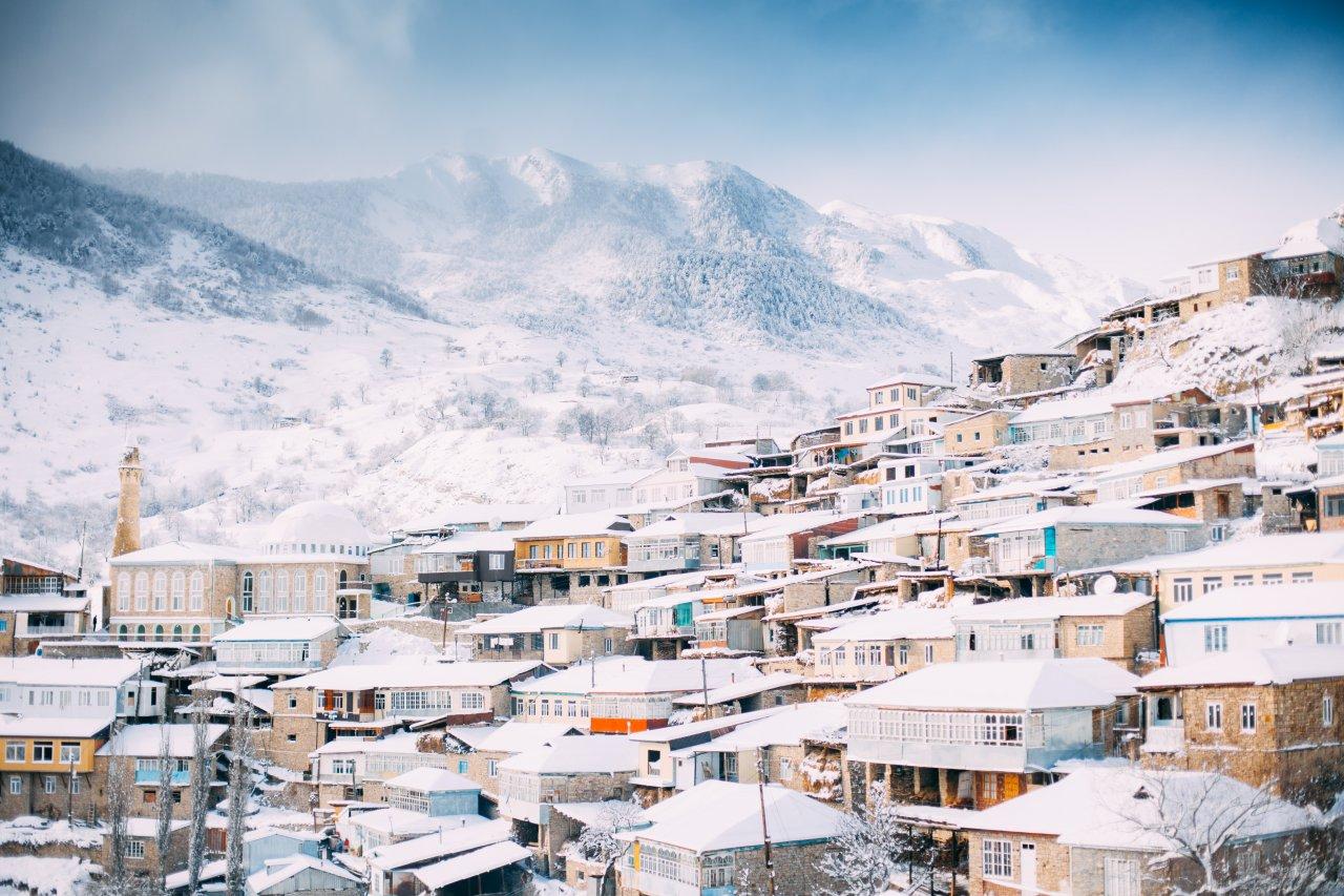 Аул Нижний Батлух зимой. Фото: Магомед Шапиев