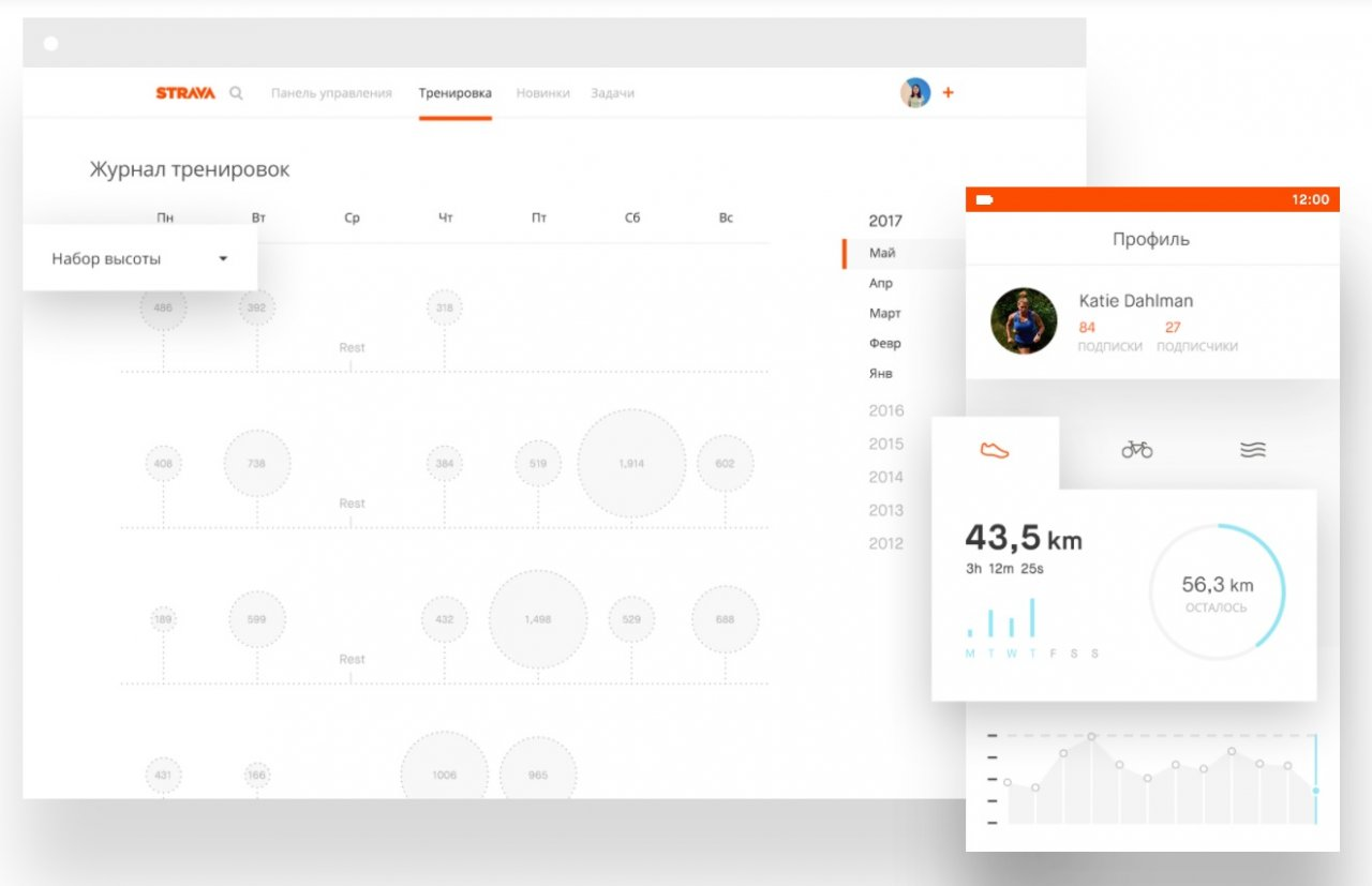Strava — социальная сеть для велосипедистов со всего мира