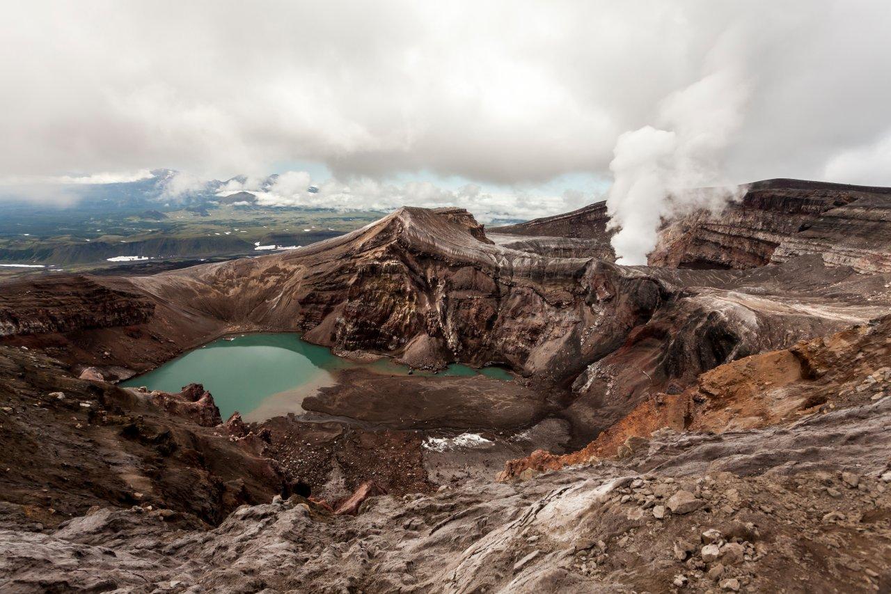 Вулкан Горелый на Камчатке. Фото: VittoriaChe/Shutterstock