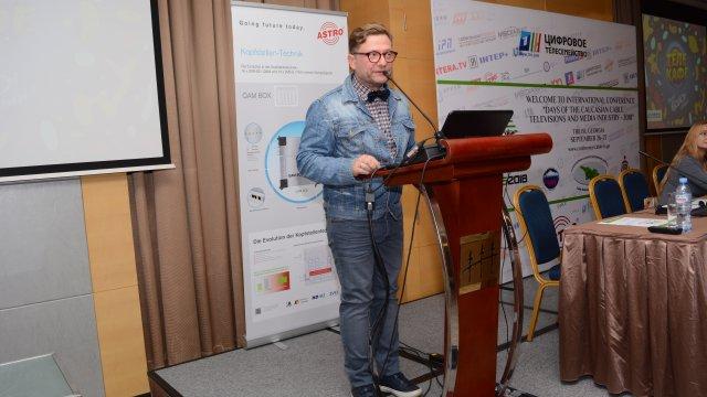 Презентации нового сезона «Цифрового Телесемейства» Первого канала на Международной конференции «Дни кабельного телевидения и медиаиндустрии Кавказа-2018»