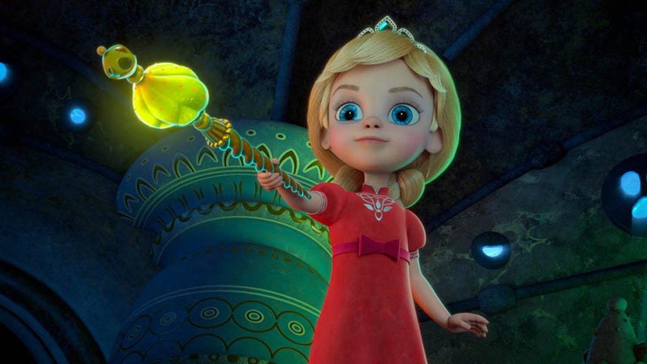 Принцесса и дракон - Анимационный фильм