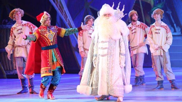 Звёздные гости Кремлёвской ёлки увидели новогоднюю сказку «Тайна планеты Земля»
