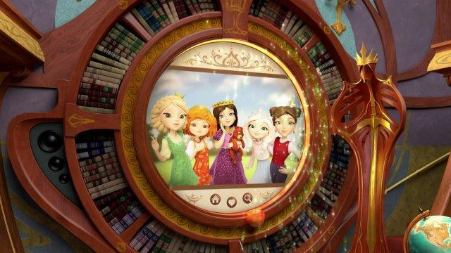 Премьерные серии анимационного сериала «Царевны» на телеканале «О!»