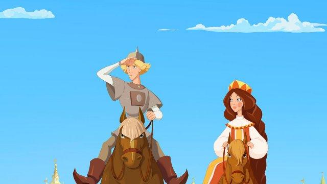 Телеканал «Дом кино Премиум» представляет мировую премьеру мультфильма «Три богатыря и Наследница престола»