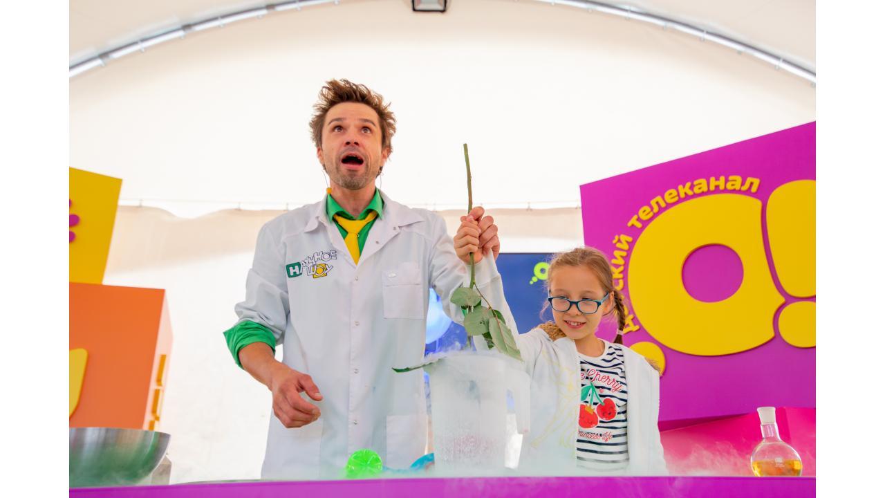 Большой детский праздник телеканала «О!» на юбилее ВДНХ продлится до конца недели!