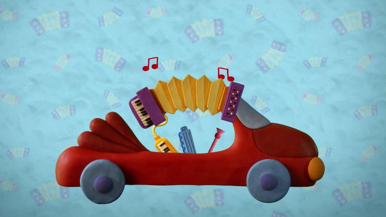 Пластилинки. Музыкальные инструменты