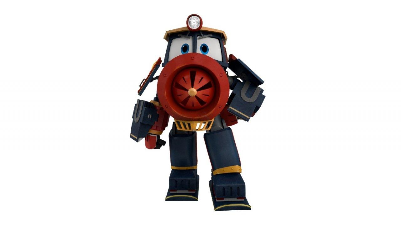 Роботы-поезда: угадайте героев по картинкам!